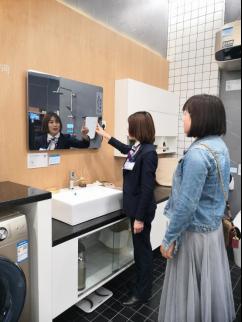 青岛居然之家实测海尔智慧家庭差异化场景之四:浴室